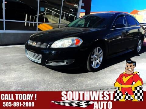 2011 Chevrolet Impala for sale at SOUTHWEST AUTO in Albuquerque NM