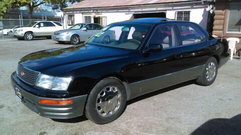 1996 Lexus LS 400 for sale at Larry's Auto Sales Inc. in Fresno CA