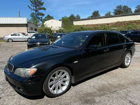 2007 BMW 7 Series for sale at Car Online in Roswell GA