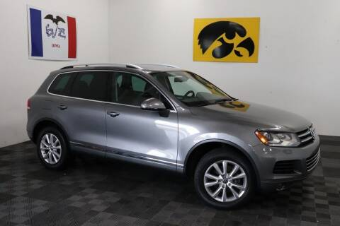 2014 Volkswagen Touareg for sale at Carousel Auto Group in Iowa City IA
