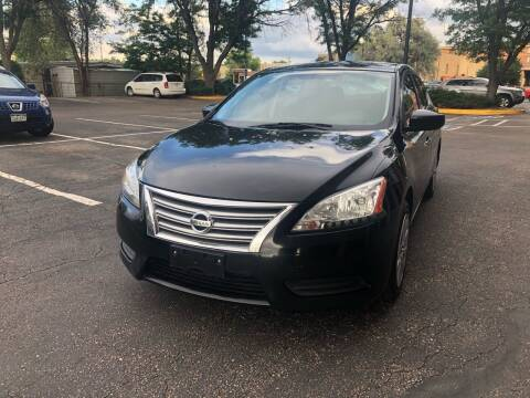 2013 Nissan Sentra for sale at Modern Auto in Denver CO