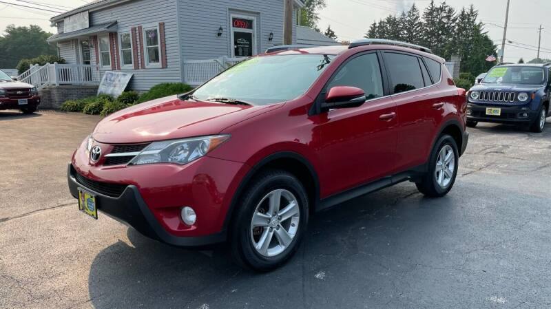 2013 Toyota RAV4 for sale at RBT Automotive LLC in Perry OH