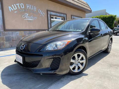 2012 Mazda MAZDA3 for sale at Auto Hub, Inc. in Anaheim CA