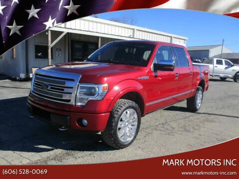 2013 Ford F-150 for sale at Mark Motors Inc in Gray KY
