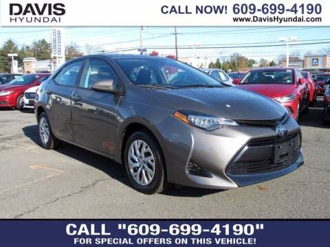 2018 Toyota Corolla for sale at Davis Hyundai in Ewing NJ