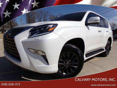 2021 Lexus GX 460 for sale at Calvary Motors, Inc. in Bixby OK