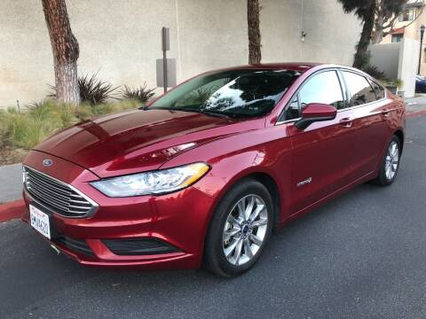 2017 Ford Fusion Hybrid for sale at Korski Auto Group in San Diego CA