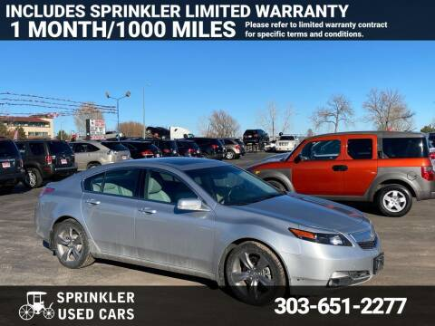 2012 Acura TL for sale at Sprinkler Used Cars in Longmont CO