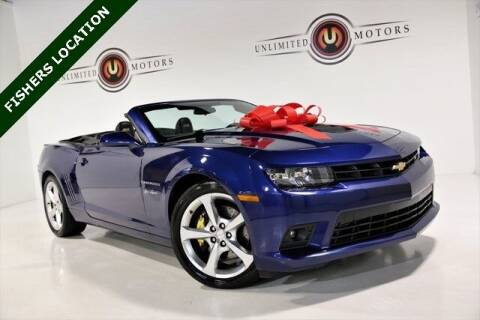 2014 Chevrolet Camaro for sale at Unlimited Motors in Fishers IN