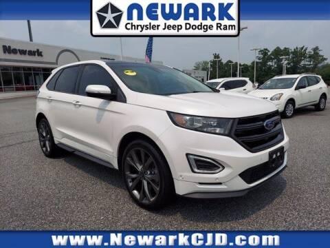 2017 Ford Edge for sale at NEWARK CHRYSLER JEEP DODGE in Newark DE