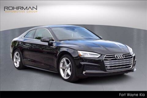 2019 Audi A5 for sale at BOB ROHRMAN FORT WAYNE TOYOTA in Fort Wayne IN