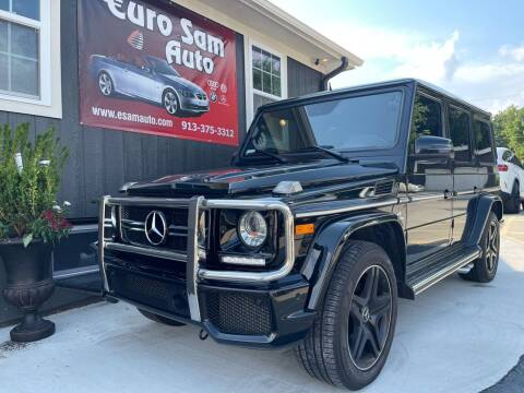 2016 Mercedes-Benz G-Class for sale at Euro Auto in Overland Park KS
