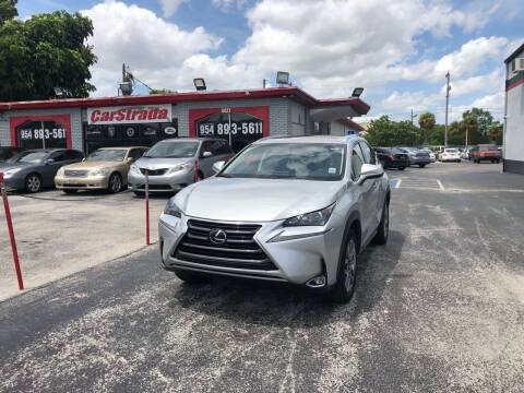2016 Lexus NX 200t for sale at CARSTRADA in Hollywood FL