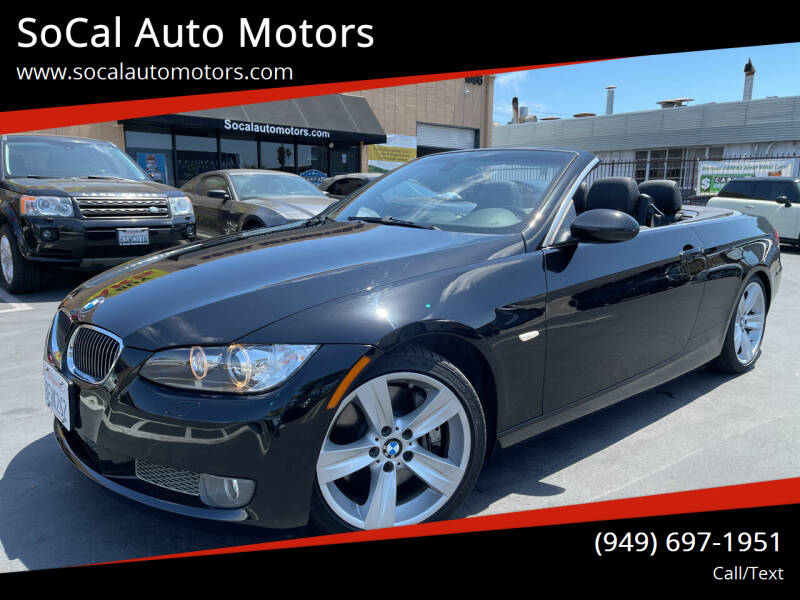 2009 BMW 3 Series for sale at SoCal Auto Motors in Costa Mesa CA
