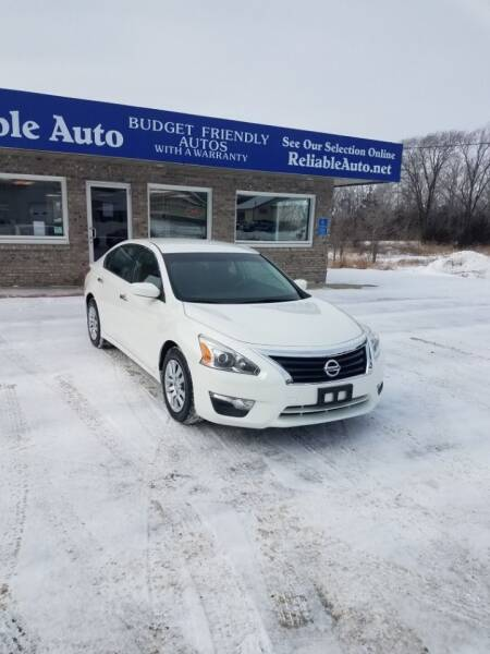 2013 Nissan Altima for sale at Reliable Auto in Cannon Falls MN