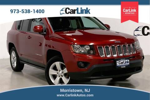 2016 Jeep Compass for sale at CarLink in Morristown NJ