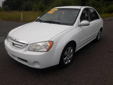 2006 Kia Spectra for sale at State Street Auto Sales in Centralia WA