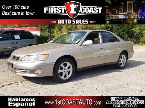 2001 Lexus ES 300 for sale at 1st Coast Auto -Cassat Avenue in Jacksonville FL