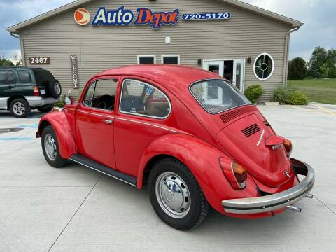1970 Volkswagen New Beetle for sale at The Auto Depot in Mount Morris MI