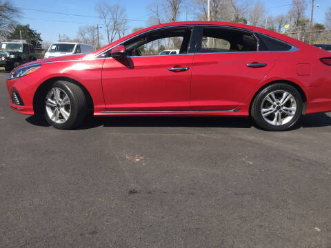 2018 Hyundai Sonata for sale at Beckham's Used Cars in Milledgeville GA