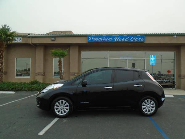 2015 Nissan LEAF for sale at Family Auto Sales in Victorville CA