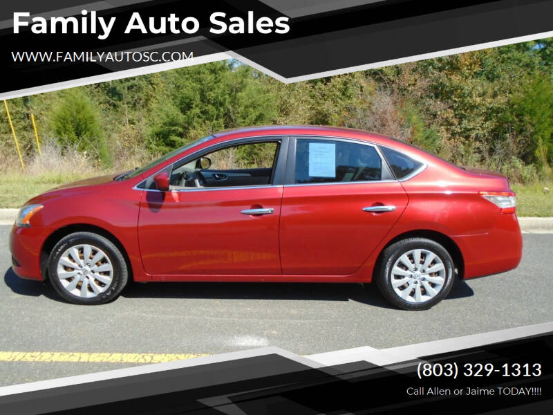 2014 Nissan Sentra for sale at Family Auto Sales in Rock Hill SC