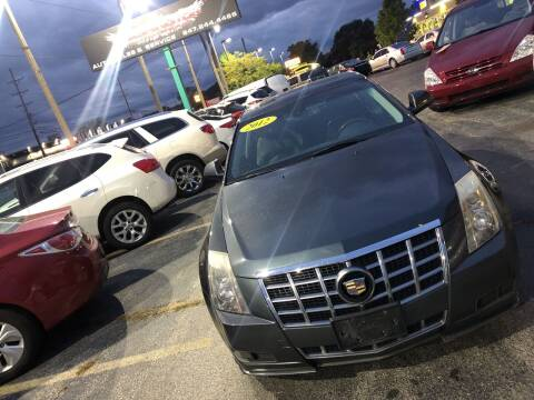 2012 Cadillac CTS for sale at Washington Auto Group in Waukegan IL