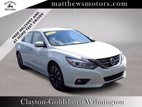 2018 Nissan Altima for sale at Auto Finance of Raleigh in Raleigh NC