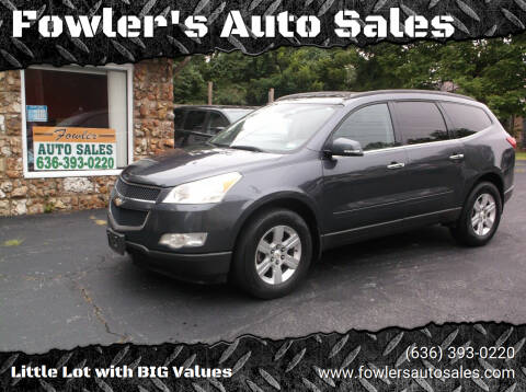 2011 Chevrolet Traverse for sale at Fowler's Auto Sales in Pacific MO