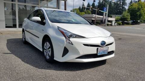 2018 Toyota Prius for sale at Seattle Auto Deals in Everett WA