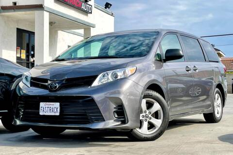 2019 Toyota Sienna for sale at Fastrack Auto Inc in Rosemead CA