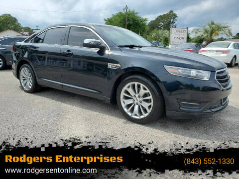 2015 Ford Taurus for sale at Rodgers Enterprises in North Charleston SC