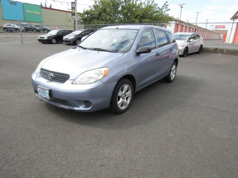 2005 Toyota Matrix for sale at ARISTA CAR COMPANY LLC in Portland OR