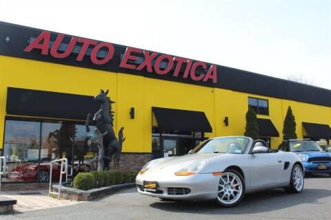 2000 Porsche Boxster for sale at Auto Exotica in Red Bank NJ