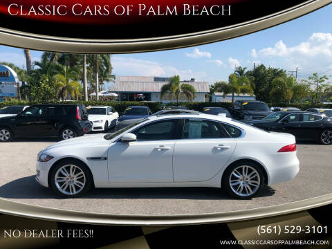 2016 Jaguar XF for sale at Classic Cars of Palm Beach in Jupiter FL