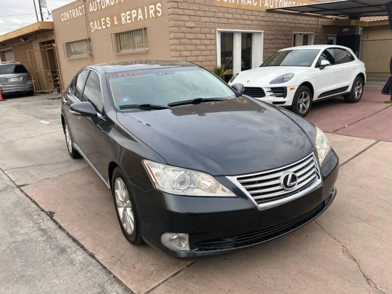 2011 Lexus ES 350 for sale at CONTRACT AUTOMOTIVE in Las Vegas NV