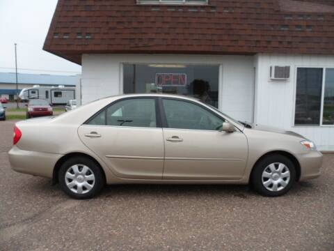 2004 Toyota Camry for sale at Paul Oman's Westside Auto Sales in Chippewa Falls WI