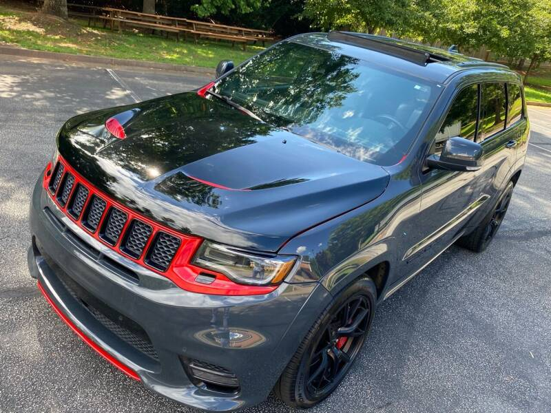 2018 Jeep Grand Cherokee for sale at Top Notch Luxury Motors in Decatur GA