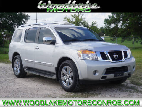 2013 Nissan Armada for sale at WOODLAKE MOTORS in Conroe TX