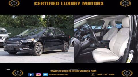 2018 Ford Fusion for sale at Certified Luxury Motors in Great Neck NY
