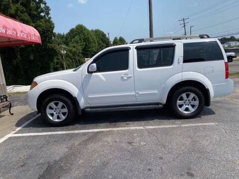 2008 Nissan Pathfinder for sale at TV Auto Sales in Greer SC