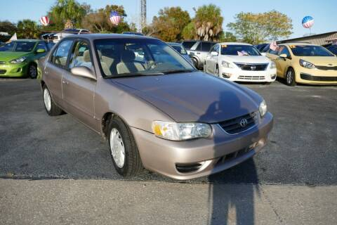 2002 Toyota Corolla for sale at J Linn Motors in Clearwater FL