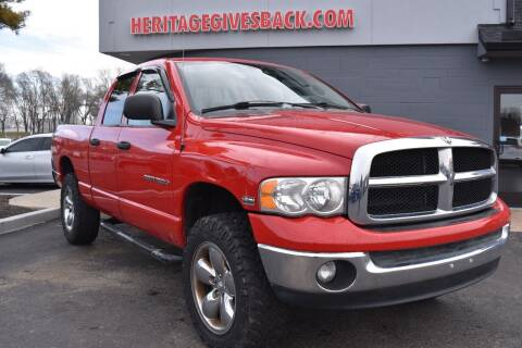 2005 Dodge Ram Pickup 1500 for sale at Heritage Automotive Sales in Columbus in Columbus IN