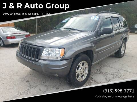 2002 Jeep Grand Cherokee for sale at J & R Auto Group in Durham NC