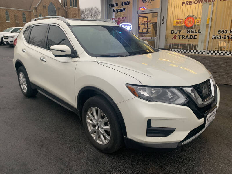 2017 Nissan Rogue for sale at KUHLMAN MOTORS in Maquoketa IA