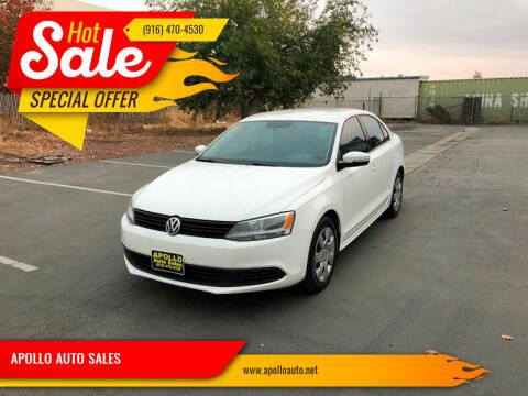 2011 Volkswagen Jetta for sale at APOLLO AUTO SALES in Sacramento CA