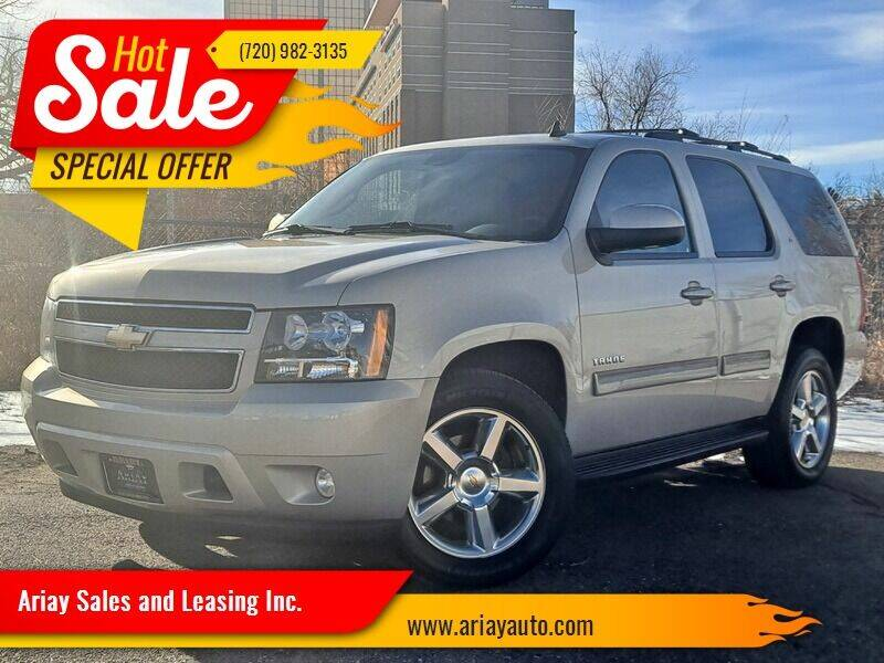 2010 Chevrolet Tahoe for sale at Ariay Sales and Leasing Inc. in Denver CO
