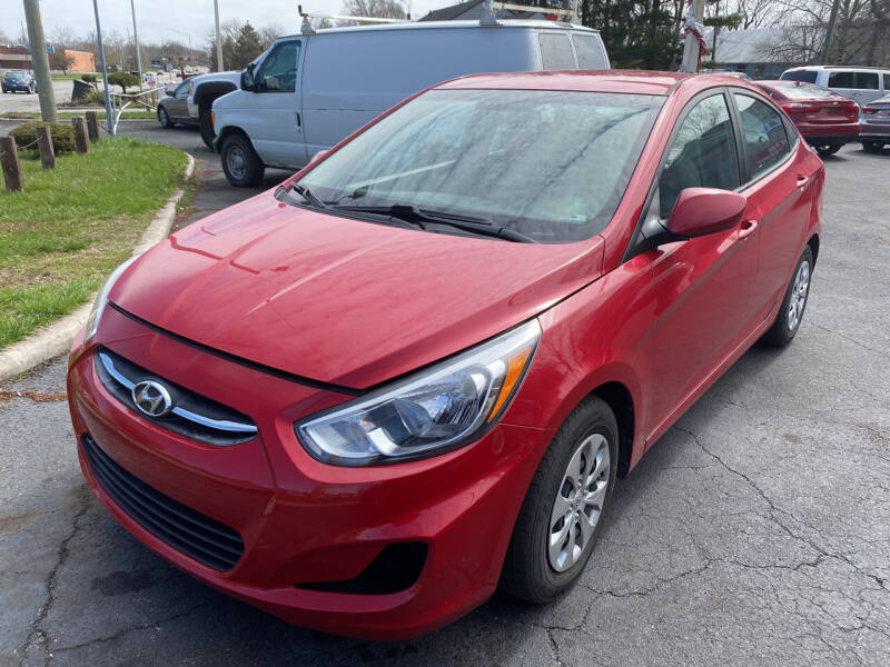2017 Hyundai Accent for sale at Right Place Auto Sales in Indianapolis IN