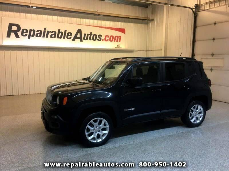 2017 Jeep Renegade 4x4 Latitude 4dr SUV - Strasburg ND