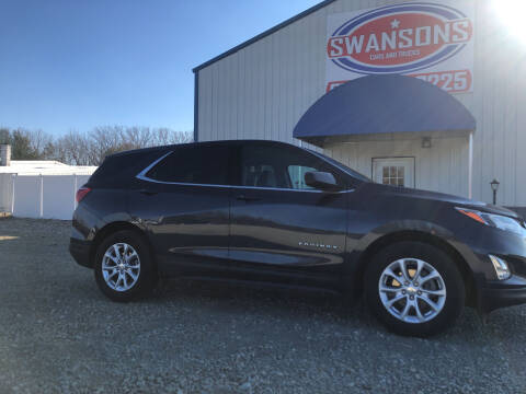 2019 Chevrolet Equinox for sale at Swanson's Cars and Trucks in Warsaw IN